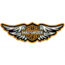 HARLEY-DAVIDSON (Wings) Embroidered Patch