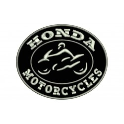HONDA MOTORCYCLES Embroidered Patch