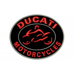 DUCATI MOTORCYCLES Embroidered Patch