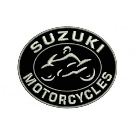 SUZUKI MOTORCYCLES Embroidered Patch