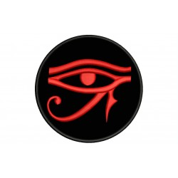 EYE OF HORUS (WEDJAT) (EGYPTIAN SYMBOLOGY) Embroidered Patch