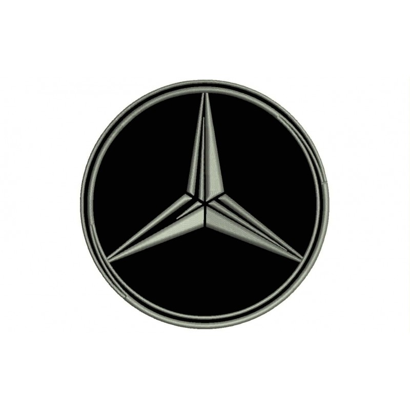 MERCEDES-BENZ (Logo) Embroidered Patch