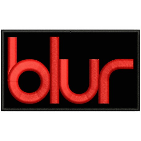 BLUR Embroidered Patch