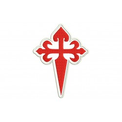 CROSS ORDER of SANTIAGO (WHITE Background)