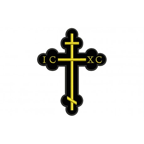 CHRISTIAN CROSS IC-XC Embroidered Patch
