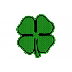 LUCKY CLOVER Embroidered Patch