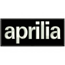 APRILIA Embroidered Patch