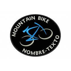 MOUNTAIN BIKE MTB Custom Embroidered Patch