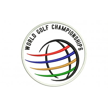 WGC (World Golf Championships) Embroidered Patch