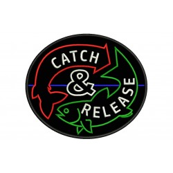 FISHING (Catch & Release) Embroidered Patch
