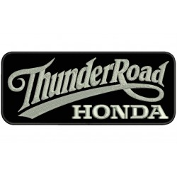 THUNDER ROAD HONDA Embroidered Patch