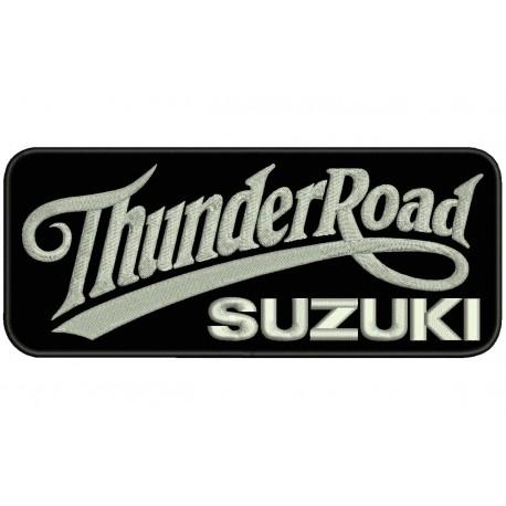 THUNDER ROAD SUZUKI Embroidered Patch