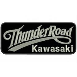 THUNDER ROAD KAWASAKI Embroidered Patch