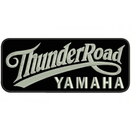 THUNDER ROAD YAMAHA Embroidered Patch