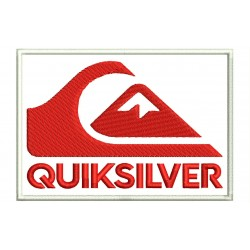 QUIKSILVER Embroidered Patch