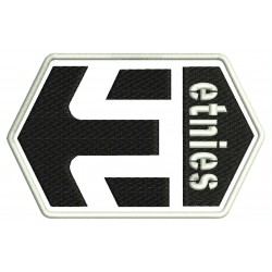 ETNIES (Logo) Embroidered Patch