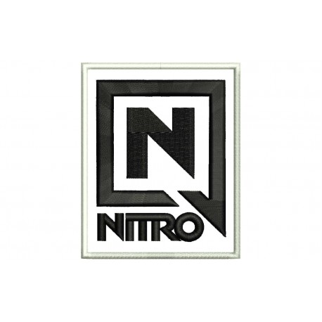 NITRO (Logo) Embroidered Patch