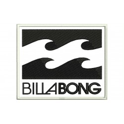 BILLABONG Embroidered Patch