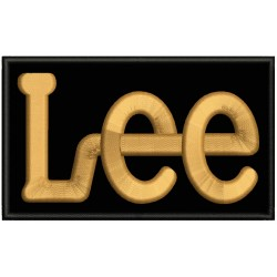 LEE Embroidered Patch