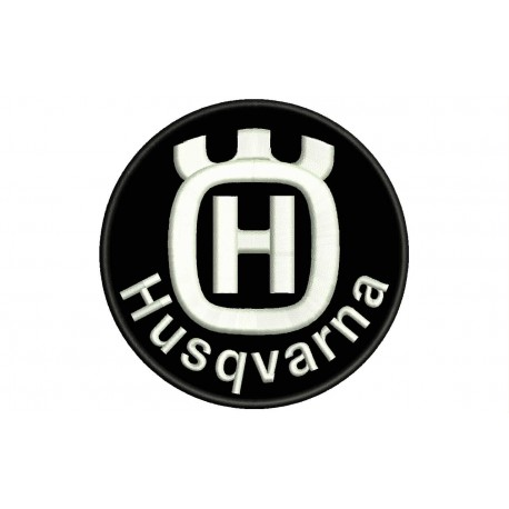 HUSQVARNA Embroidered Patch