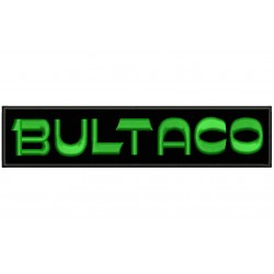 BULTACO (Letters) Embroidered Patch