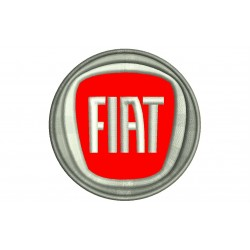 FIAT (New Logo) Embroidered Patch
