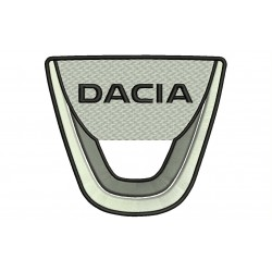 DACIA (Logo) Embroidered Patch