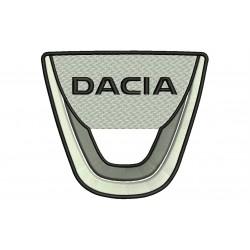 Parche Bordado DACIA (Logo)