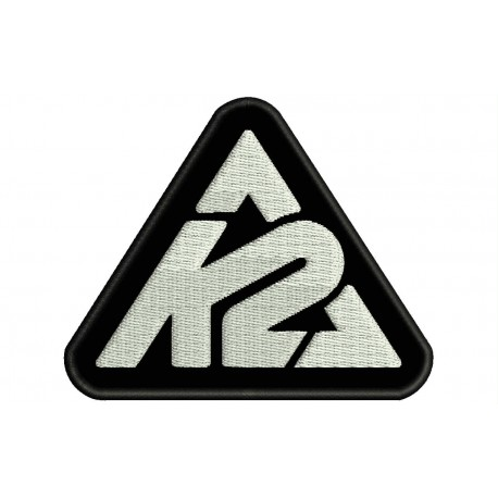 K2 (Logo) Embroidered Patch