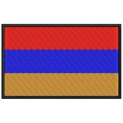 Parche Bordado Bandera ARMENIA