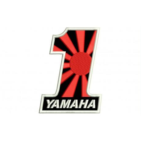 YAMAHA NUMBER 1 (Kamikaze) Embroidered Patch