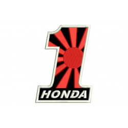 HONDA NUMBER 1 (Kamikaze) Embroidered Patch