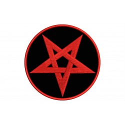 PENTAGRAM Embroidered Patch