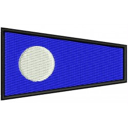 ICS TWO FLAG Embroidered Patch