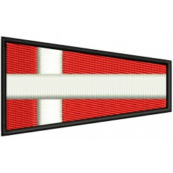 ICS FOUR FLAG Embroidered Patch