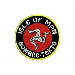 Parche Bordado ISLA DE MAN (Personalizable)