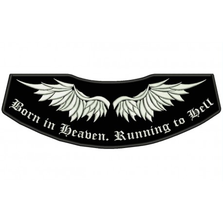 WINGS Custom Embroidered Patch