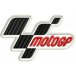 Parche Bordado MOTO GP (Fondo BLANCO)