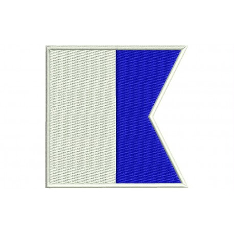 ICS ALPHA FLAG Embroidered Patch