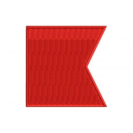 ICS BRAVO FLAG Embroidered Patch