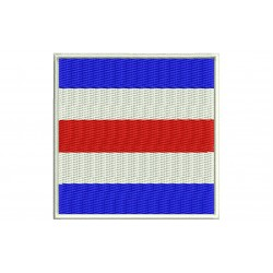 ICS CHARLIE FLAG Embroidered Patch