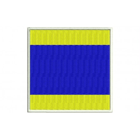 ICS DELTA FLAG Embroidered Patch