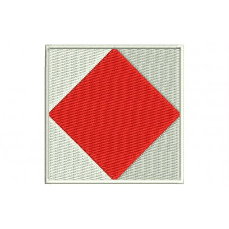 ICS FOXTROT FLAG Embroidered Patch