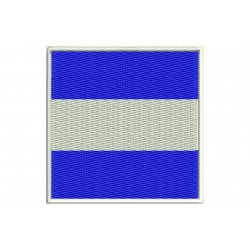 ICS JULIET FLAG Embroidered Patch