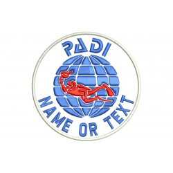 PADI DIVING Custom Embroidered Patch
