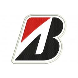 Parche Bordado BRIDGESTONE (Logo)