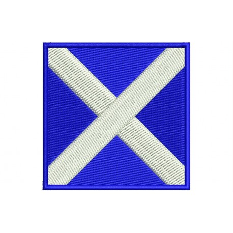 ICS MIKE FLAG Embroidered Patch