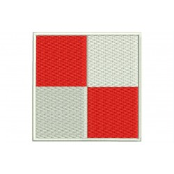 ICS UNIFORM FLAG Embroidered Patch
