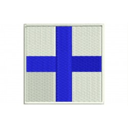 ICS X-RAY FLAG Embroidered Patch