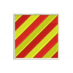 ICS YANKEE FLAG Embroidered Patch